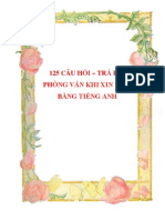 125 Cau Hoi Tra Loi Phong Van Khi Xin Viec Bang Tieng Anh_cafebook.info