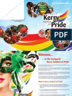 Kerry Festival of Pride Sponsorship Brochure