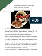 Analiza Unei Reclame Tiparite Dupa Modelul Lui Roland Barthes - Ciocolata Mars Delight de La Marsh