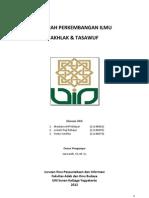 Perkembangan Akhlak Tasawuf