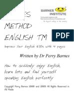 Barnes Method English @ Improve Your English 500% With 4 Pages  Melhorar Seu Ingles Muito