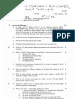 TY BSc IT mumbai university question paper sem 6 IT