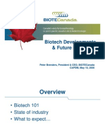 Biotech Developments
