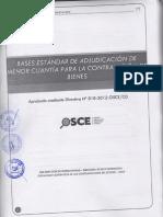 AMC Nº 01-2013-ADQUISICION DE UNIFORMES CASCAS.