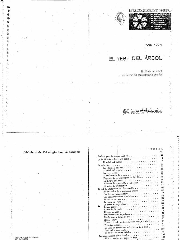 Test Del Arbol Koch