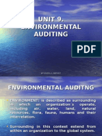 Unit 9. Environmental Auditing-kos