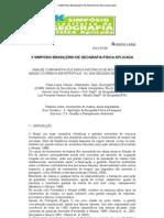 Análise comparativa dos dados historicos de movimentos de massa ocorridos em Petrópolis