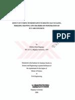 Effect of Curing on Resistance to Deicing Salt Scaling, Freezing-Thawing and Chloride-ion Penetration of Fly Ash Concrete [Ucucu Küllü Betonlarda Kürün Buz Çözücü Tuzlara ve Donma Çözülme Döngülerine Karşı Direnç ve Klor İyonu Geçirgenliği Üzerine Etkisi]