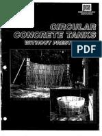 Circular Tank Design
