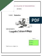 Robotics Ieee