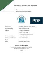 Laporan Praktikum Dasar Pengukuran Elektronika