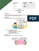 english paper 4