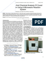 Decomposition and Chemical Analysis of Cured Epoxy System Using a Microwave Reaction System