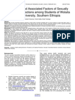 Prevalence and Associated Factors of Sexually Transmitted Infections Among Students of Wolaita Sodo University Southern Ethiopia