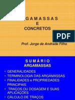 (2) Argamassas e Concretos