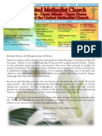 April 2013 FUMC Newsletter