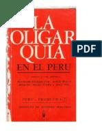 FRANÇOIS BOURRICAUD - LA OLIGARQUIA EN EL PERU