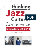 Rethinking Jazz Cultures Programme