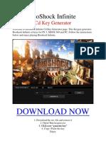 BioShock Infinite Keygen Free Download