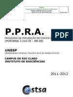 Ppra Rio Claro Ib 2011 2012