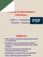 Aulas de Eletronica Resistores Componentes