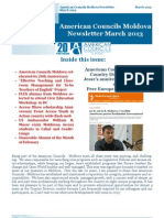 American Councils Moldova Newsletter March 2013