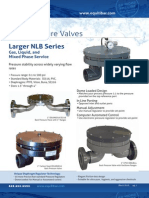 NLB Back Pressure Valves Brochure 032613