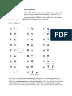 How to write elvish