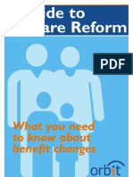Orbit Guide to Welfare Reform