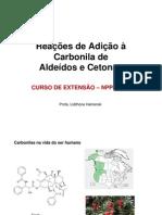 Aldeidos e Cetonas Nivelamento 2013