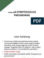 Vaksin Streptococcus Pneumoniae