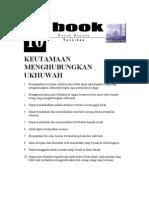 10 Keutamaan Menghubungkan Ukhuwwah