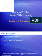Create Your First Document