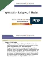 4 Spirituality, Religion, & Health