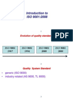 Introduction to Iso 9001-2008