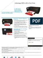 HP IA DJ 3525 Engleza