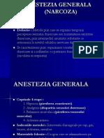 ANESTEZIA GENERALA