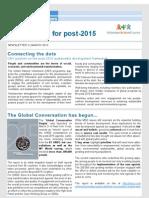 Newsletter 2 Volunteering for Post-2015
