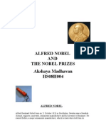 Alfred Nobel and the Nobel Prizes