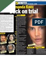 Amanda Knox - Back on trial