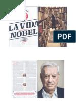 Mario Vargas Llosa, nota de la revista colombiana Squire
