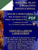 Base Del Plan Operativo Institucional.