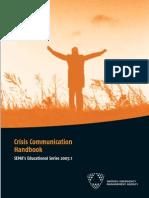 Crisis Communication Handbook