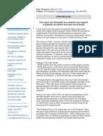 CHIA Report Release