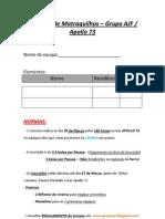 I Torneio de MATRECOS - Grupo AJF (29-03-2009) (Ficha de Insciação)