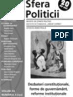 Sfera Politicii 172 - Nov-Dec 2012