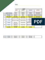 Jadwal Pelajaran Xii Ipa 1