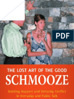 The Lost Art of Good Schmooze
