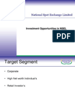Investment Opportunities at Nsel