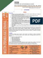 Boletín Semana Epidemiológica 04-2013